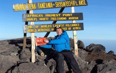GLC på toppen av Kilimanjaro