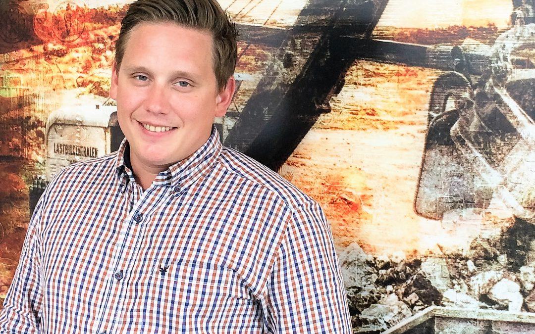 Fredrik Möller ny hos oss på GLC